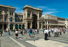 Zakupy centrum handlowe w Mediolan, Włochy Obrazy Stock