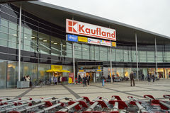 Zakupy centrum handlowe w Niemcy fotografia stock