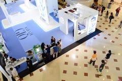 Zakupy centrum handlowe w Petronas bliźniaczych wieżach Fotografia Royalty Free