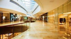 Zakupy centrum handlowego centrum Fotografia Royalty Free