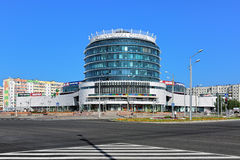 Zakupy centrum handlowego perła Syberia w Tobolsk, Rosja Zdjęcie Stock