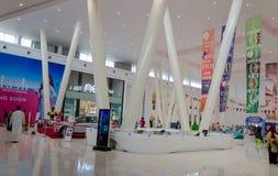 Zakupy centrum handlowego wnętrza Obraz Stock