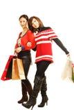 Zakupy dziewczyna Zdjęcie Royalty Free