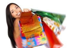 Zakupy kobieta Obraz Royalty Free