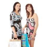 zakupy kobiety Zdjęcie Stock