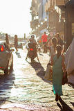 Zakupy kobiety w Florencja, Włochy Obraz Stock