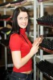 zakupy kobiety young Zdjęcie Stock
