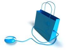 zakupy on - line Fotografia Stock