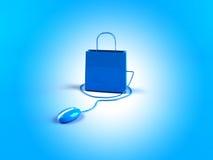 zakupy on - line Zdjęcia Stock