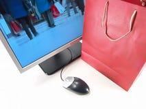 zakupy online internetu Fotografia Stock