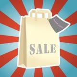 Zakupy paczki sprzedaż Fotografia Stock