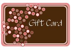 zakupy różowego brown kart Obraz Stock