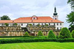 zakupy slott Arkivbild