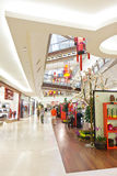 Zakupy w połowie Dolinny Centrum handlowe Zdjęcia Stock