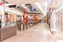 Zakupy w połowie Dolinny Centrum handlowe Fotografia Royalty Free