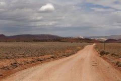 Zakurzona droga w Utah fotografia stock
