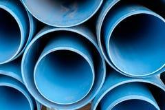 Zakurzony błękit drymby pvc Obraz Stock