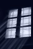 zakurzony stary okno Obrazy Royalty Free