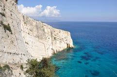 Zakynthos, île ionienne Photos stock