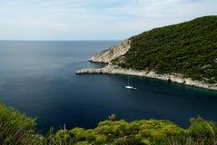 Zakynthos. View from Zakynthos island cost stock image