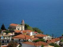 Zakynthos-Ansicht Stockfotos