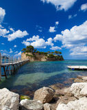 Zakynthos, a bridge to the island Royalty Free Stock Photo