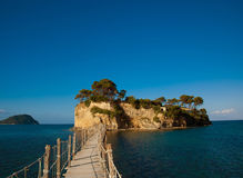 Zakynthos, a bridge to the island Royalty Free Stock Photos