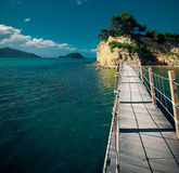 Zakynthos, a bridge to the island Royalty Free Stock Image