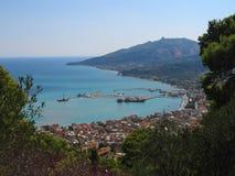 Zakynthos Chora stockfoto