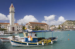 Zakynthos city Stock Photo