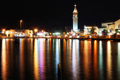 Zakynthos City Lights Stock Photography