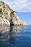 Zakynthos coast Stock Image