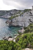 Zakynthos coast Royalty Free Stock Photography