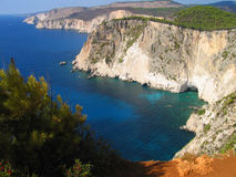 Zakynthos Coast 3 Royalty Free Stock Images
