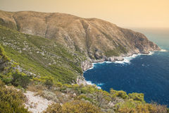 Zakynthos coast Royalty Free Stock Photos