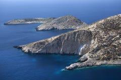 Zakynthos coast view Royalty Free Stock Photography