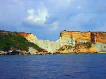 Zakynthos Coastine Royaltyfri Foto