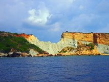 Zakynthos Coastine Royalty Free Stock Photo