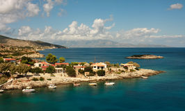 Zakynthos coastline Royalty Free Stock Photo