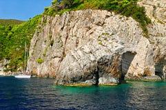 Zakynthos coastline Stock Images