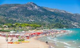 Zakynthos, Greece. Banana beach Stock Photo