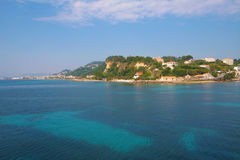 Zakynthos, Greece - incredible view at Zakynthos Port Royalty Free Stock Photos