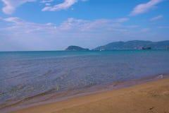 Zakynthos, Greece - Marathonisi view Stock Photos