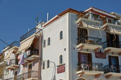 Residential House in Zakynthos Island, Ionian Sea, Greece, Europ royalty free stock photo
