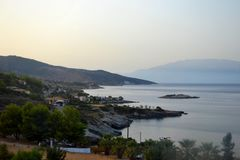 Zakynthos, Griechenland stockbild