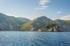 Zakynthos Ionian wyspy Obrazy Royalty Free