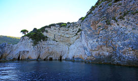 Zakynthos island, Blue caves Stock Photo