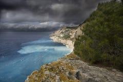 Zakynthos-Klippen Lizenzfreie Stockbilder