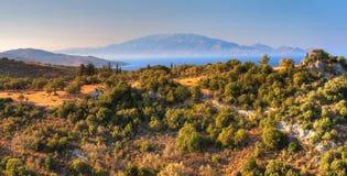 Zakynthos landscape Stock Photography