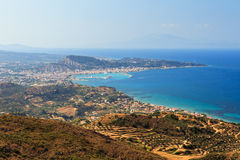 Zakynthos panorama Stock Photo